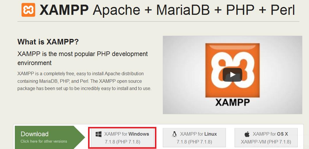 XAMPP download - SourceForgenet